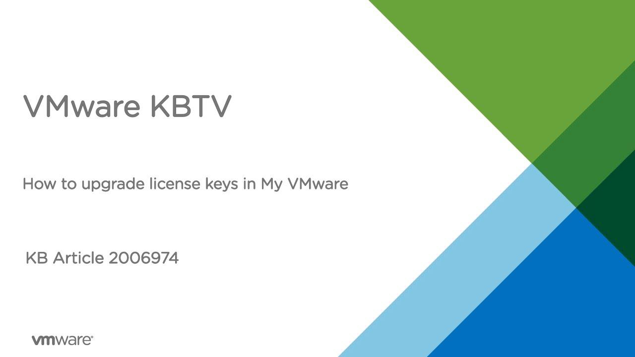 vmware esxi license key has expired