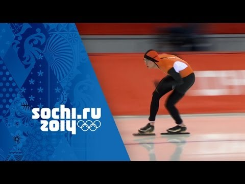 Speed Skating - Men's 10000m - Jorrit Bergsma Wins Gold | Sochi 2014 Winter Olympics