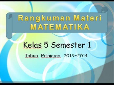 Buku Paket Matematika Kls 5 Kurikulum 2013 - Guru Galeri