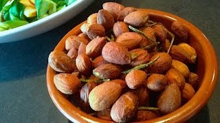 Garlic & Rosemary Roasted Almonds
