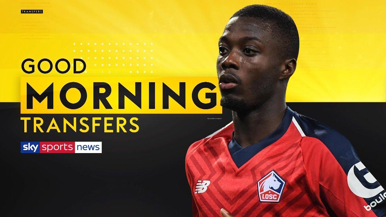 premium selection 51ae7 2ab59 Arsenal set to smash their transfer record to sign Nicolas Pepe? | Good  Morning Transfers