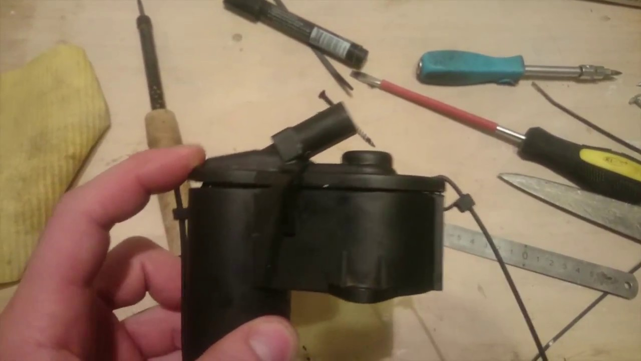 Ремонт моторчика ручника Passat B6, ручник Пассат Б6, как и чем склеить сервопривод ручника Passat