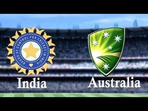 India Vs Australia Cricket Match Game