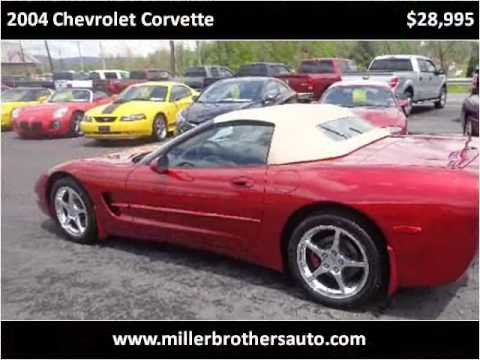 2004 chevrolet corvette used cars mill hall pa youtube. Cars Review. Best American Auto & Cars Review