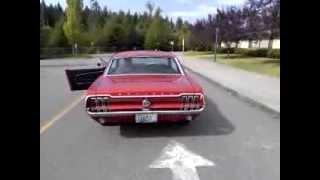 1968 Mustang 289 H Pipe Dual Exhaust, Magnaflow 40s, Tri-y headers