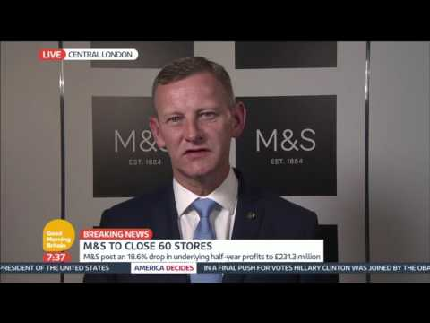 Marks and Spencer to Close 60 Stores | Good Morning Britain