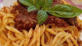 Ragù Alla Bolognese (ricetta Semplice)!!!