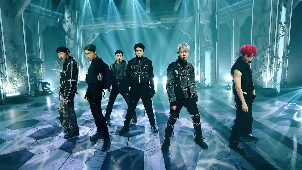 EXO엑소'Obsession' (EXO Ver.) @EXO THE STAGE