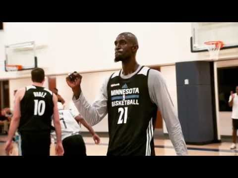 Real Training Camp Week – All Access:  Minnesota Timberwolves