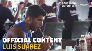 A DAY WITH LUIS SUÁREZ DURING THE 2019 US TOUR