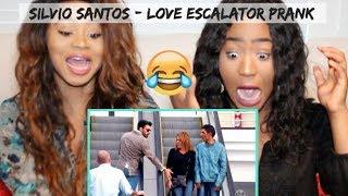 Baixar *HILARIOUS* Sisters React to Love Escalator Prank 2 by Silvio Santos (Brazilian Prank)