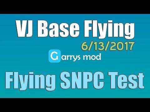 VJ Base Flying SNPC Test - 6/13/2017 (Garry's Mod)