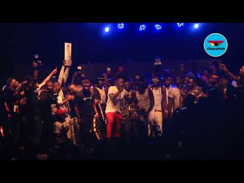 Ashaiman to da World Concert: Stonebwoy performs with Shatta Wale