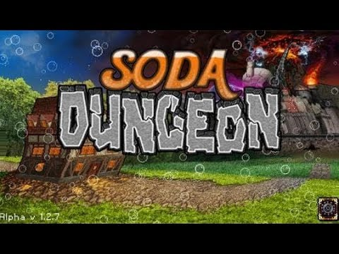 Soda Dungeon Part 3  Adventures, raid's, upgrades, bosses and treasures - PC INDIE TRYOUTS