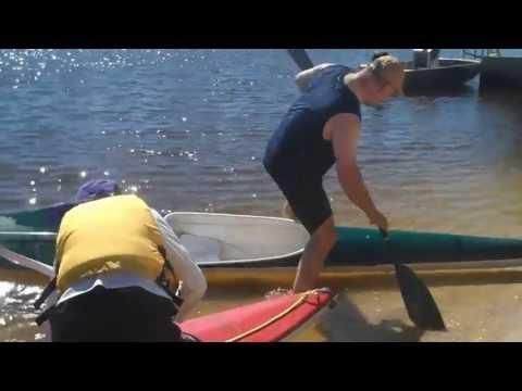 Baz's hobbies - 16V - Canoeing and Fishing on the Swan River Perth WA. Easter 2013