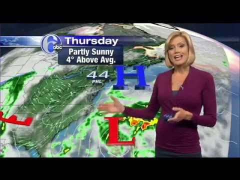 VIDEO: Cecily Tynan with AccuWeather - YouTube