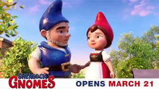 Join Gnomeo & Juliet on their biggest little adventure! #SherlockGnomes