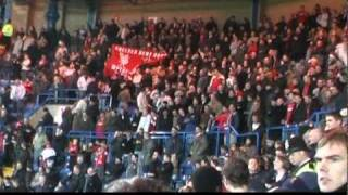 Liverpool Fans at Stamford Bridge - You'll Never Walk Alone
