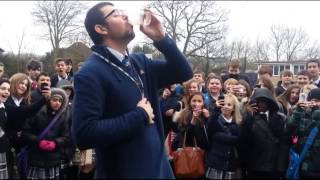 Teacher drinks chilli smoothie Thumbnail