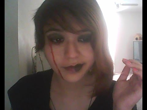 Gothic Tears of Blood (Makeup Tutorial)