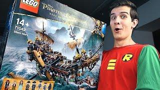 LEGO Пираты Карибского Моря - КОРАБЛЬ ПРИЗРАК - Набор На Обзор (71042)