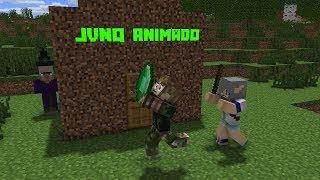 JVNQ ANIMADO (SE CICLO DE VIDA NO MINECRAFT REALMENTE EXISTISSE DO NOOB )