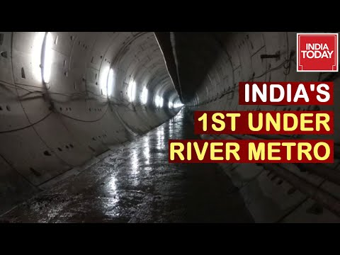 Kolkata All Set For India's First Underwater Metro Services   Good News Today