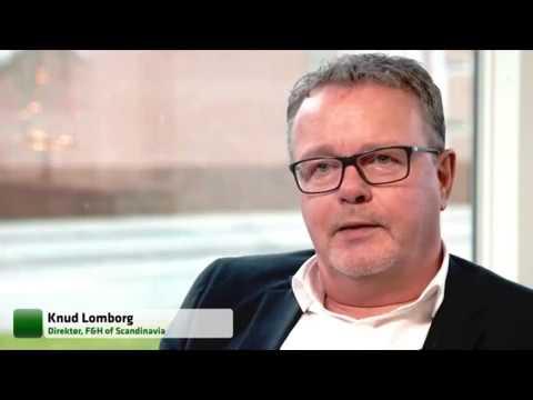 JyskeBank tv på besøg hos F&H of Scandinavia