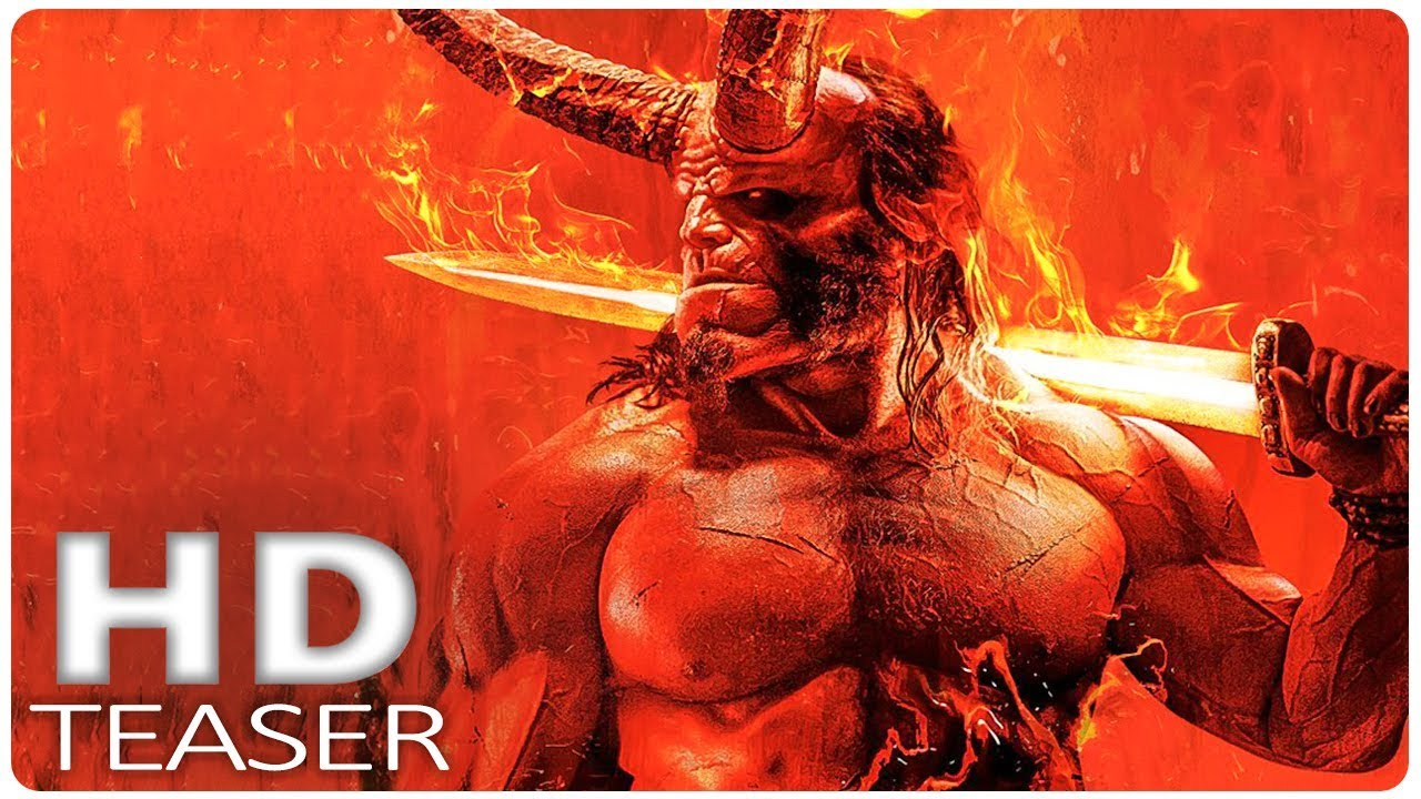 Hellboy Official First Look 2019 New Hellboy Reboot David Harbour