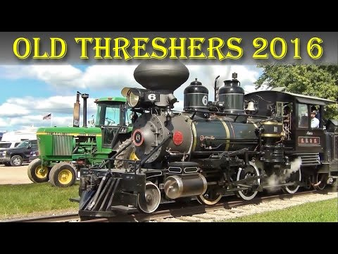The Trains at Old Threshers, 2016 - Mount Pleasant, IA