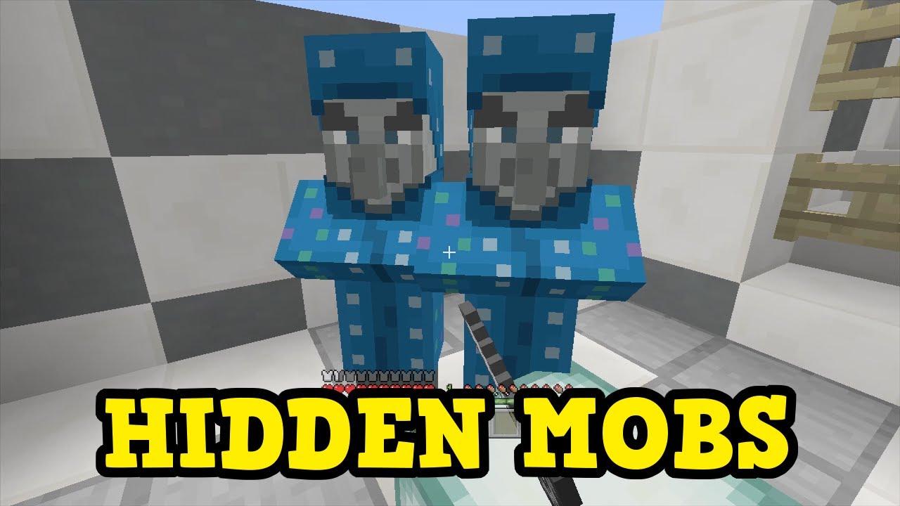 minecraft ps3 mobs list