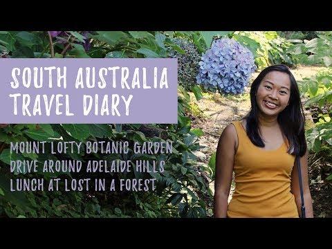 Mount Lofty Botanic Garden Visit | Drive around Adelaide Hills | South Australia Travel Diary
