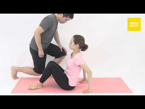 10大腿二頭筋のストレッチ指導法
