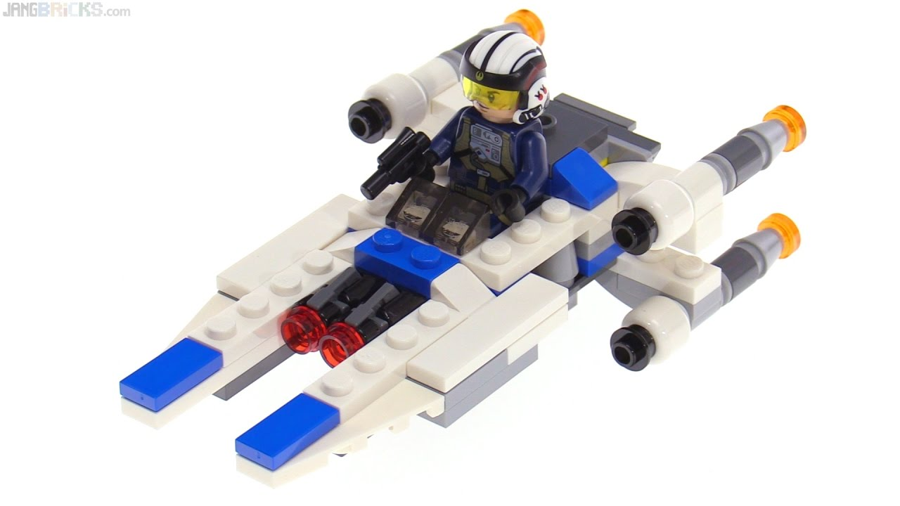 LEGO Star Wars Microfighters U-Wing review! 75160 - YouTube