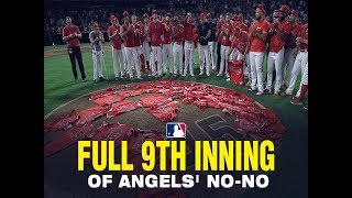 Angels close out no-hitter while honoring Tyler Skaggs
