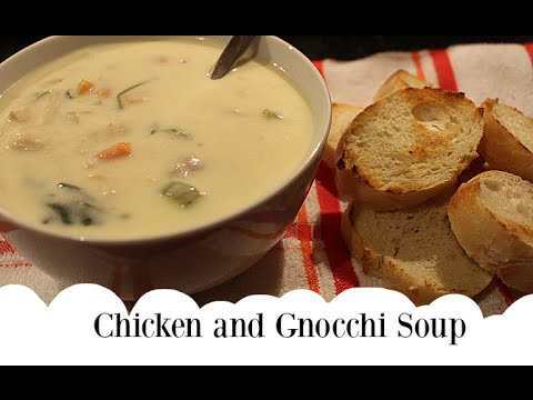 My Video News How To Make Chicken Gnocchi Soup
