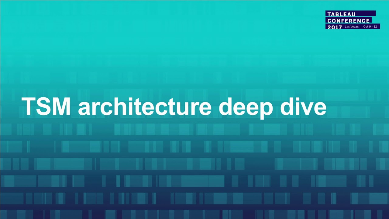 Deep dive into the architecture of Tableau Server on Linux