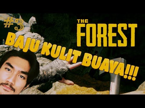 THE FOREST with RezZaDude & Friends - BAJU KULIT BUAYA!