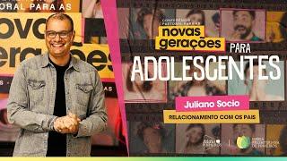 Relacionamento com os pais | Roda de Perguntas | Rev. Juliano Sócio | Conf. Pastoral Adolescentes