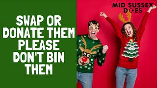 One in four Christmas jumpers were worn once and discarded last year. Why not swap with a friend...