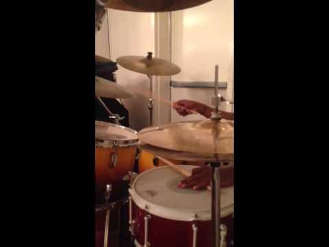 Chris Darden on drums behind Tim Rogers