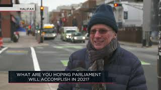 What are you hoping Parliament will accomplish in 2021? | Outburst