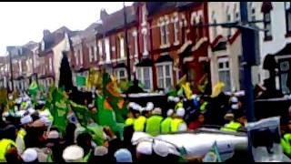 Miracle during Jaloos Eid Milad un Nabi(pbuh) in  Birmingham uk 2012