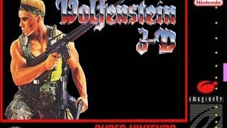 SNES Wolfenstein 3D Video Walkthrough