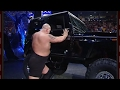 Big Show overturns a jeep