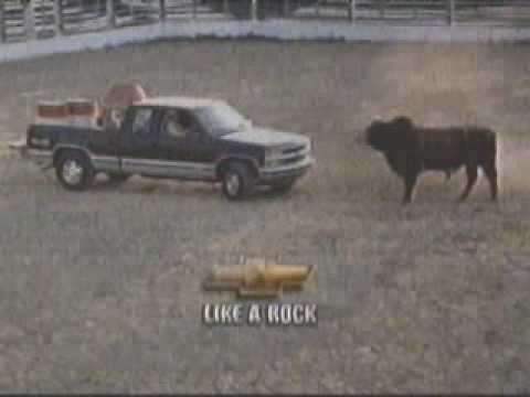 1997 Chevy pick-up Like a Rock Commercial