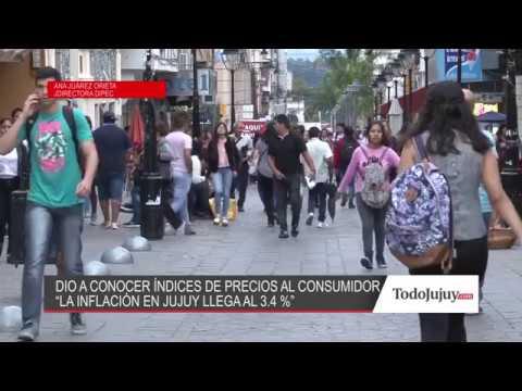 En Jujuy la inflación fue del 3,4% y acumula un 16,5% en lo que va del año