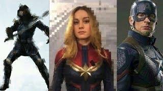 Avengers 4 Leaked Images (Ronin/Thanos/Captain America)