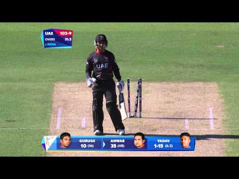 IND vs UAE: India bowl out UAE for 102. Watch ICC World Cup videos on starsports.com