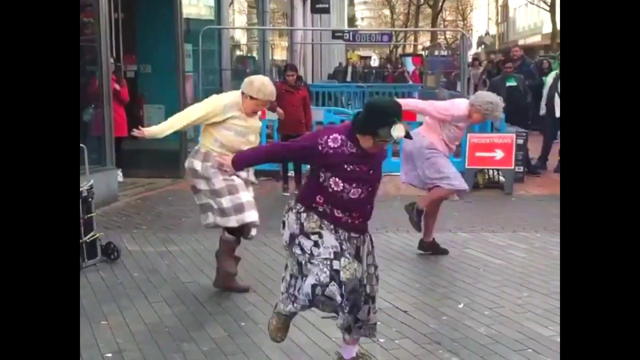 Funny Old People Dancing Compilation - Funny Videos - Youtube-4871